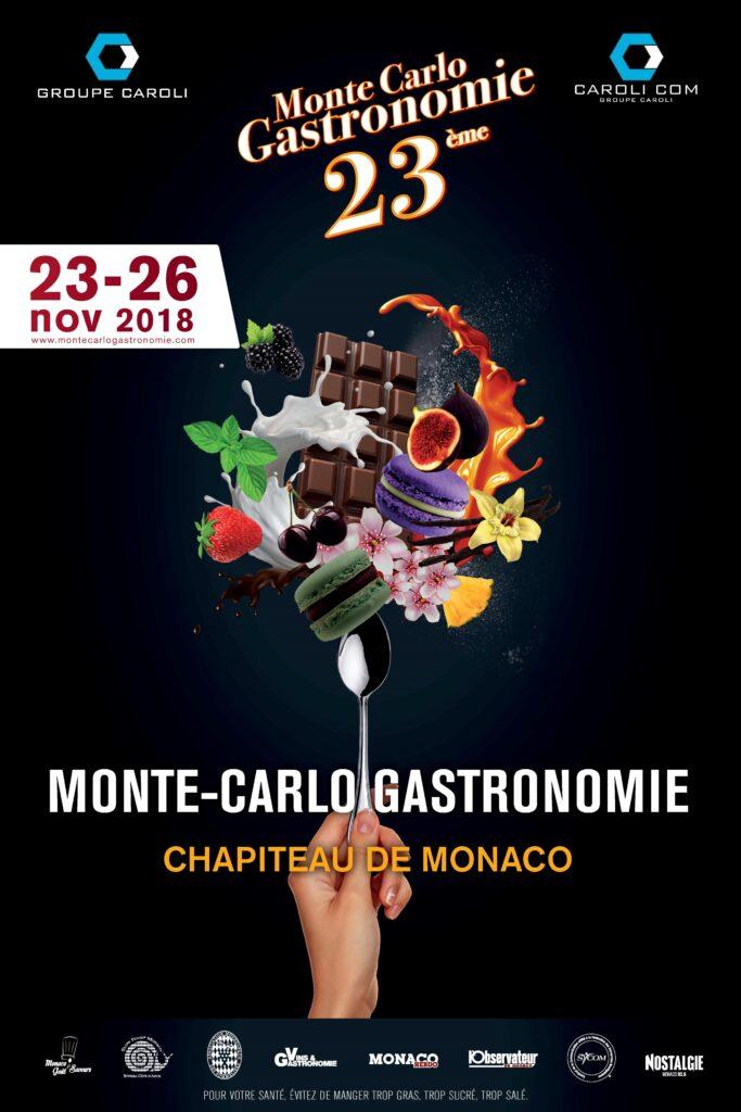 Locandina Monte-Carlo Gastronomie 2018